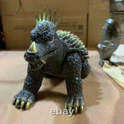 Mechagodzilla and Anguirus Sofubi Figure set BANDAI 1983 Vintage Made in Japan