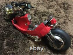 Medicom Toy Bandai PBM 1/6 AKIRA Kaneda Motorbike Figure Set Rare