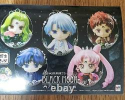 Megahouse Petit CharaSailor Moon Mini Figure Black Moon Ver. Set Japan
