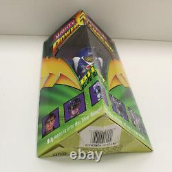 Mighty Morphin Power Rangers 8 Figure Set with Original Boxes VTG 90s Bandai 1993