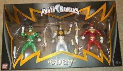 NYCC 2017 Power Rangers Fighting Spirit Three Figure set BNIB 40257 Rare