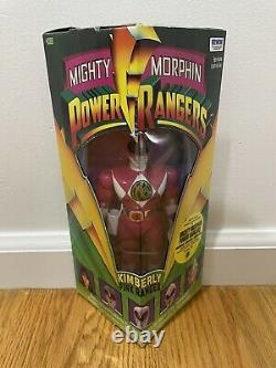 New 1993 Mighty Morphin Power Rangers Complete Set of 5 Figures Vintage