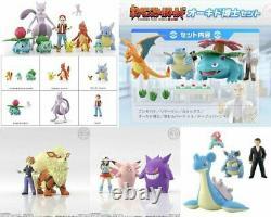 New Bandai Pocket Monsters Pokemon Scale World Kanto 1/20 All Figure Full Set