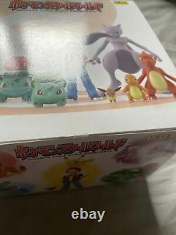 New Bandai Pokemon Scale World Kanto Complete Box Set 6 Packs 11 Figures Pikachu