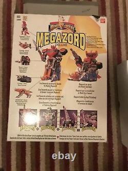 POWER RANGERS Megazord Deluxe Action Figure Toy Set Original 1993 With Box L23