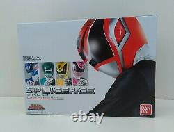 POWER RANGERS S. P. D. SP LICENCE SET Tokusou Sentai BANDAI Dekaranger USED Figure