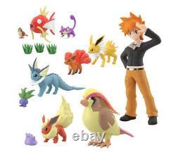 Pokemon 1/20 Scale World Set of 4 Box Johto, Kanto, Galar Region figures BANDAI