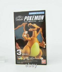 Pokemon Mewtwo Strikes Back Shodo 3 Bandai Action Figure Toy Charizard Mew New