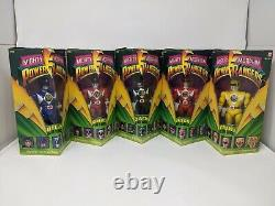 Power Rangers 1993 Bandai 8 inch figures complete set of 5