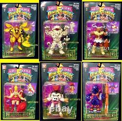 Power Rangers 5 Evil Space Aliens 6 Figure set New 1994 Bandai Morphin Amricons