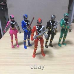 Power Rangers Dino Fury Ryusoulger Action Figure 5p Set YU-DO BANDAI Japan