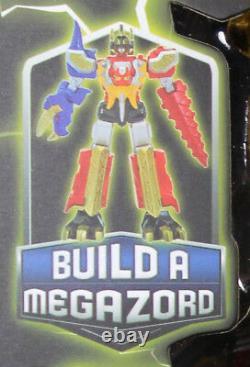 Power Rangers Dino Thunder 5-FIGURE RANGER SET withALL BAF MEGAZORD PIECES