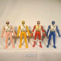 Power Rangers Gosei Sentai Dairanger Chogokin Figure 4p Set BANDAI Vintage 92's