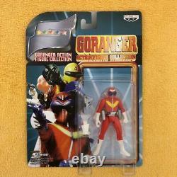 Power Rangers Himitsu Sentai Gorenger GP Figure 5p Set BANDAI Japan Vintage