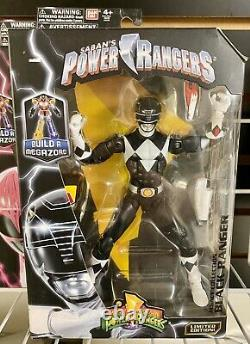 Power Rangers Legacy Figures Lot Megazord BAF Complete Set Of 5 MISB Bandai