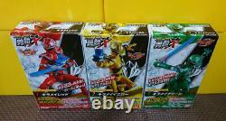 Power Rangers Mashin Sentai Kiramager Action Figure 5p Set YU-DO BANDAI Mint