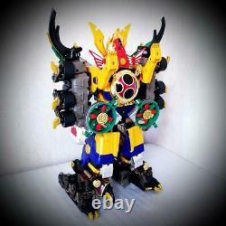 Power Rangers Ninja Storm Hurricaneger DX Megazord Set BANDAI Gouraijin Figure