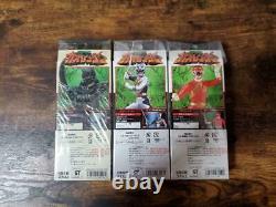Power Rangers Wild Force Gaoranger ZEN AKU Red Silver lot 3 set figure