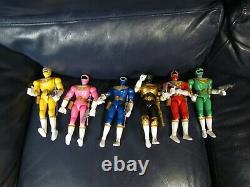 Power Rangers ZEO Action Figures 8 Set of 6