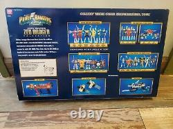 Power Rangers Zeo Auto Morphin Figure Collection Box Set Sealed With Autographs
