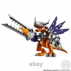 Pre-order SHODO Digimon Metal Greymon & Were Garurumon Set Limited Ed. Figure