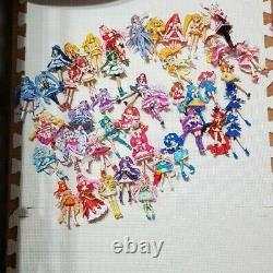 Precure Cutie Figure Lot set Figurine Doll Pretty Cure Bandai Used Japan / 8