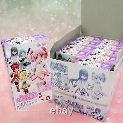Puella Magi Madoka Magica mini Figure Figurine Half Age Characters Complete Set