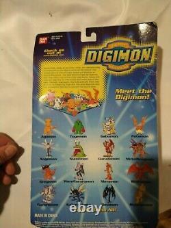 RARE NIB Digimon Collectable Mini Figures Season 1 Set 1 aguman greymon