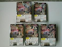 Rare Bandai Yu-Gi-Oh Hyper Real Monster Series Figure 01-05 Complete set New