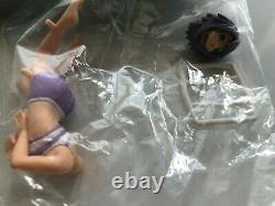 Rosario + Vampire Half Prism Figure / Full Set of 4 / Official BANDAI / NO BOX