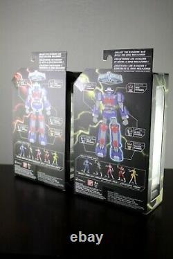 SET LOT 5 POWER RANGERS SPACE Legacy Figure BAF Black Pink Red MEGAZORD