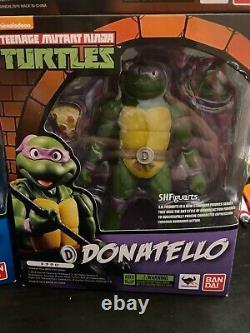 SH Figuarts Teenage Mutant Ninja Turtles TMNT Action Figure (Set of 4) Authentic