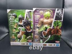 S. H. Figuarts Dragon Ball Super Saiyan Broly 2 Body Figure Set of 2 from Japan