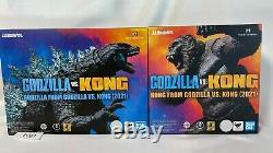 S. H. MonsterArts FROM GODZILLA VS. KING KONG 2021 Figure set