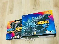 S. H. MonsterArts KONG & GODZILLA Figure Set FROM GODZILLA VS KONG(2021) Japan ver