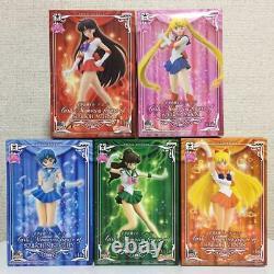 Sailor MoonBanpresto Girls Memories Figure Complete set 10pcs NEW
