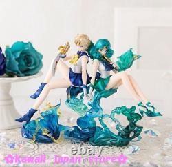 Sailor Moon Figuarts Zero Chouette Sailor Uranus & Neptune Figure Set Bandai
