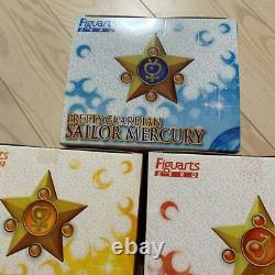 Sailor Moon Figure 5 Types Set Premium Bandai Figuarts ZERO Japan KTE459