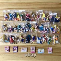 Sailor Moon Figure Gashapon Full Complete 36 Set Bandai HGIF Rare Japan KTE569