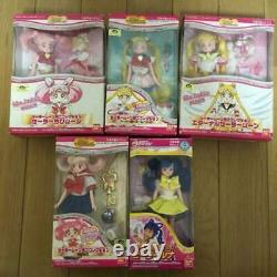 Sailor Moon Mini Collection Figure Doll Complete set Vintage Bandai Japan
