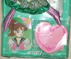 Sailor Moon R Super Jupiter 10.6 27cm Figure Dolls Dress Set BANDAI 1993 Rare