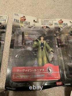 Selphie Squall Zell Sorceress Edea Final Fantasy VIII 8 Figure Set Extra Figure