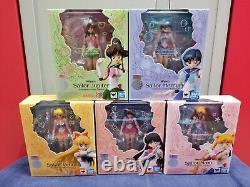 Set of 5 Bandai SH Figuarts SHF Sailor Moon Animation Color Edition Figure