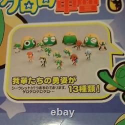 Sgt. Frog Keroro Gunso Capsule Toy Mini Figure Set of 12 In Box Vintage