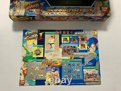 Street Fighter 2 Charafull World Figure Set Complete Capcom Bandai
