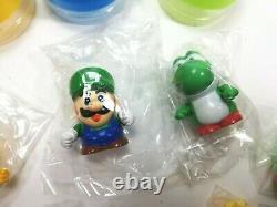 Super Mario World Set of 9 Capsule Toys 1993 Bandai Nintendo Japan figures snes