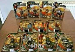 Thundercats Thunder Lynx Bandai 4 Inch Line Complete Set 11 Figures Rare