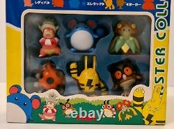Tomy Pokemon Monster Collection M Set Japanese Moncolle Sealed Figure 1999
