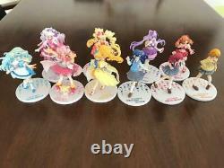 Used Bandai Anime Japan HUG tto Pretty Cure Doll Figure lot Set Pre Cure Precure