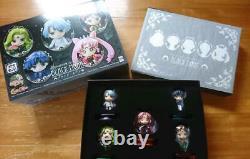Used Petit Chara! Sailor Moon Black Moon Edition BANDAI figure 5 set Black lady